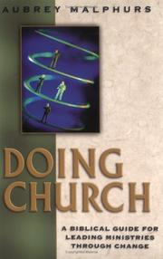 Doing Church by Aubrey Malphurs