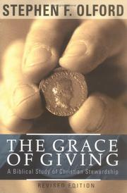 The Grace of Giving by Stephen F. Olford