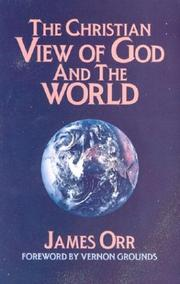 Cover of: The Christian View of God and the World