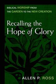 Cover of: Recalling the hope of glory