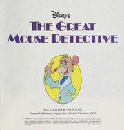 Cover of: Disney's The great mouse detective | Walt Disney Pictures