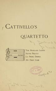 Cover of: Cattivello's quartetto