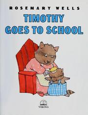 Cover of: Timothy Goes to School