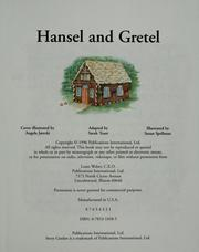 Cover of: Hansel and Gretel (Story garden)