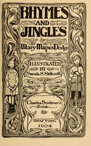 Cover of: Rhymes and jingles