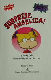 Cover of: Surprise, Angelica!