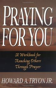Cover of: Praying for you