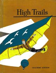 Cover of: High Trails | William D Sheldon