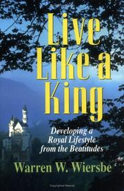 Cover of: Live like a king