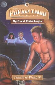 Cover of: Mystery at Death Canyon (Parker Twins Series, The)