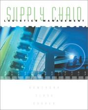 Cover of: Supply Chain Logistics Management | Donald Bowersox