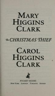 Cover of: The Christmas thief: A Novel