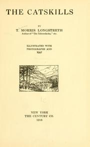 Cover of: The Catskills