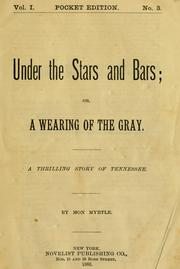 Cover of: Under the stars and bars