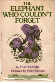 Cover of: The Elephant Who Couldn't Forget