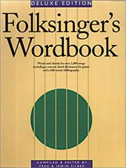 Cover of: Folksinger's wordbook