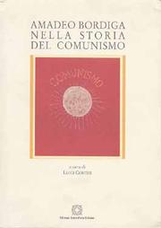 Cover of: Amadeo Bordiga nella storia del comunismo