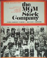 Cover of: The MGM stock company