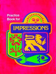 Cover of: Impressions | William Kirtley Durr