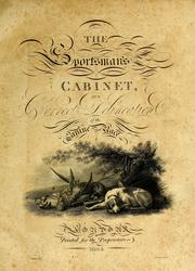 Cover of: The sportsman's cabinet by Taplin, William