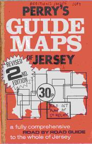 Cover of: Perry's guide maps of Jersey by Roy S. Perry