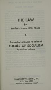 Cover of: The Law