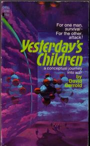 Cover of: YESTERDAY'S CHILDREN