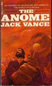 Cover of: The Anome