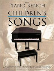 Cover of: The Piano Bench Of Children