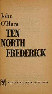 Cover of: Ten North Frederick