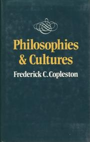 Cover of: Philosophies and cultures