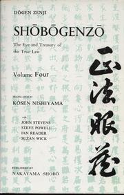 Cover of: Shōbōgenzō (A complete English translation): The eye and treasury of the true law