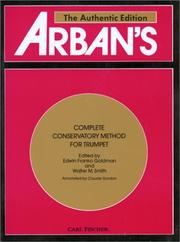 Cover of: Arban