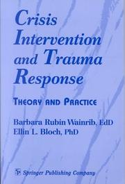 Cover of: Crisis intervention and trauma response