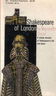 Cover of: Shakespeare of London | Marchette Chute