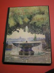 Cover of: Gardens of Rome