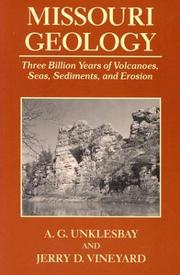 Cover of: Missouri geology