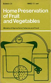 Cover of: Home preservation of fruit and vegetables