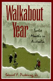 Cover of: Walkabout year