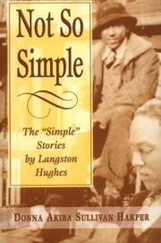 "Cover of: Not So Simple: The ""Simple"" Stories"