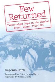 Cover of: Few returned
