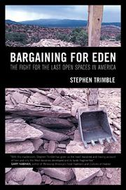Cover of: Bargaining for Eden | Stephen Trimble