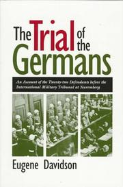 Cover of: The trial of the Germans