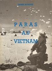 Cover of: Paras au Vietnam