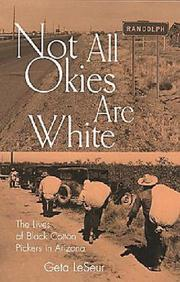 Cover of: Not all Okies are white