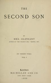Cover of: The second son