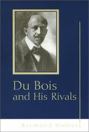 Cover of: Du Bois and his rivals