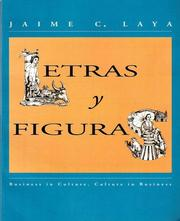 Cover of: Letras y figuras by Jaime C. Laya