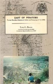 Cover of: East of Pinatubo | Lino L. Dizon