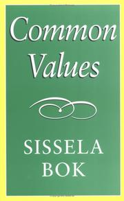 Cover of: Common Values | Sissela Bok